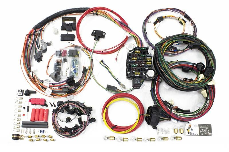auto wiring harness kits painless performance products direct fit complete car ... painless auto wiring harness kits #1