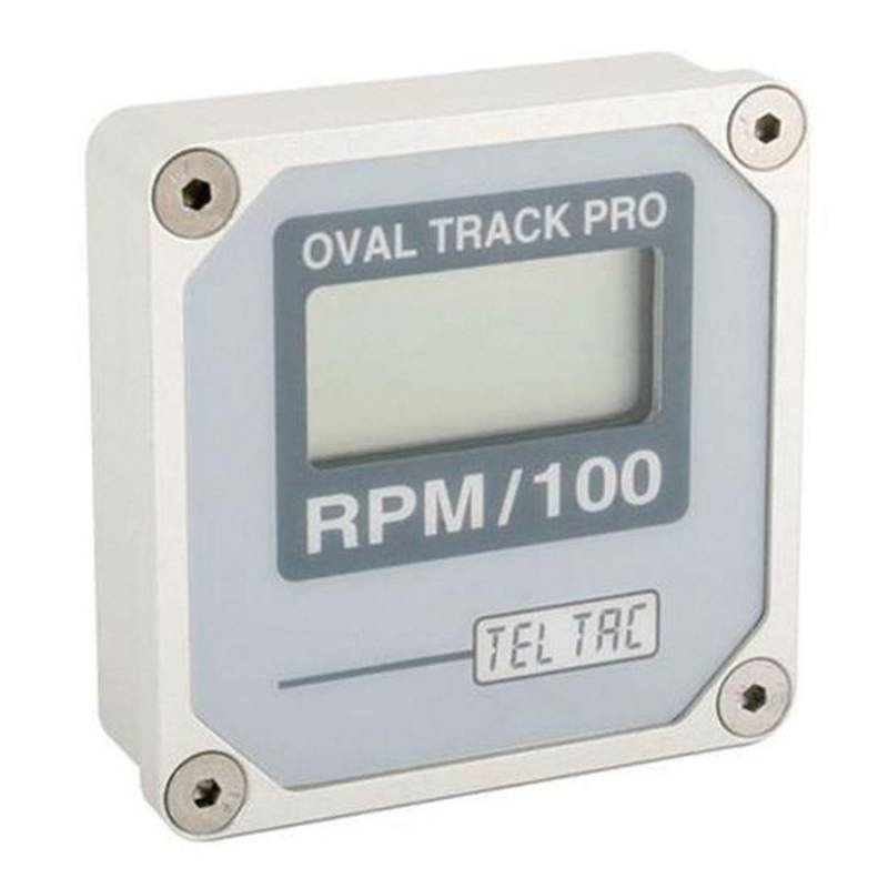 tel tach oval track pro multi recal digital reading tachometer otp