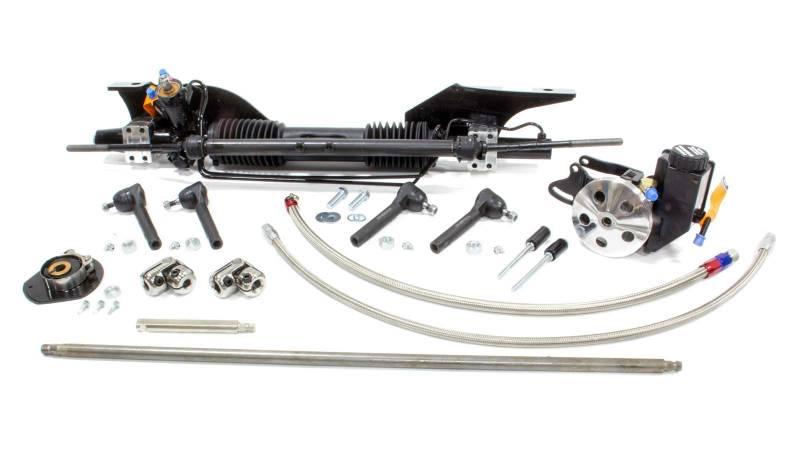 unisteer 1965  u0026 66 mustang power steering rack  u0026 pinion