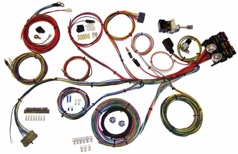 [GJFJ_338]  American Autowire Power Plus 13 Wiring Harness Kits 510004 : American  Autowire Power Plus 13 Wiring Harness Kits | Integrated Wiring Fuse Box |  | Pit Stop USA