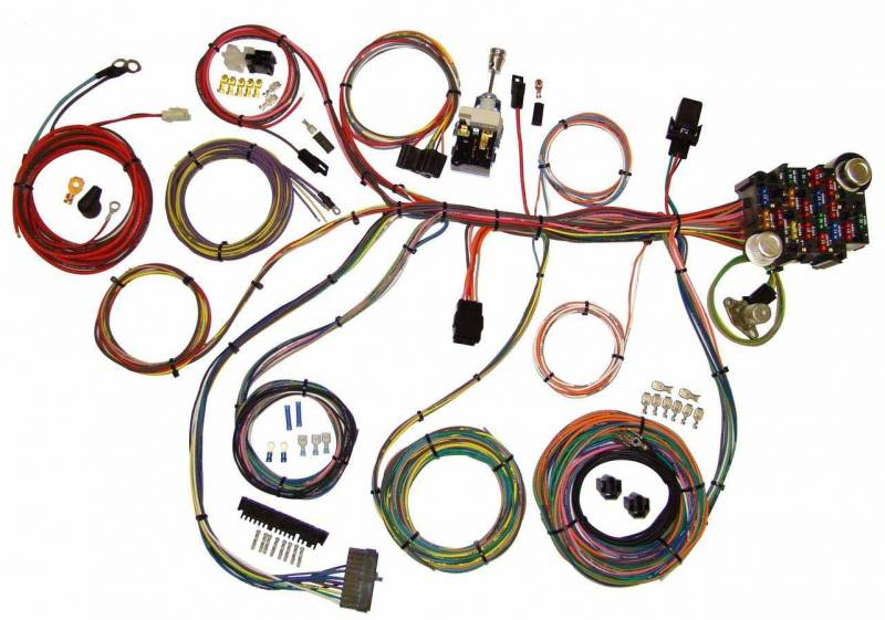 American Autowire Power Plus 20 Wiring Harness Kits 510008