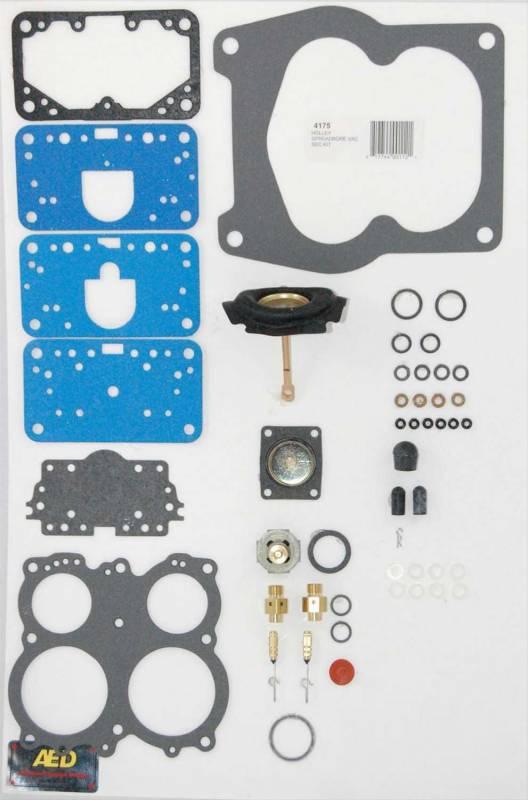 AED Holley 650-600 CFM Spread-Bore Vacuum Secondary