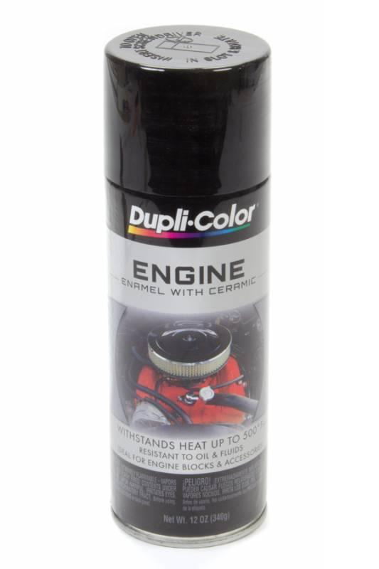 dupli colorr engine enamel  oz  gloss black de