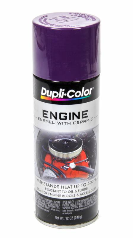 Can Plum Purple Dupli Color Engine Enamel 12 Oz