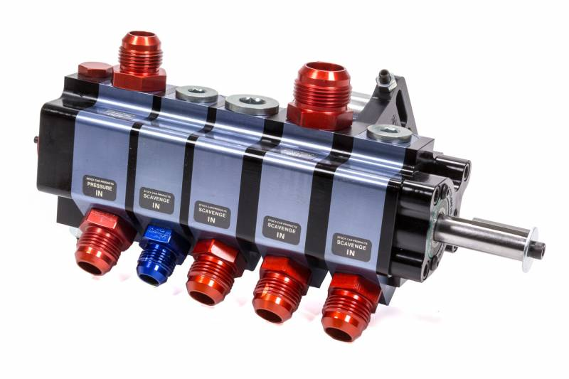 Stock Car Products: Stock Car Products Dry Sump Oil Pump 5 Stage