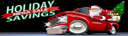 Holiday Savings Mega Sale