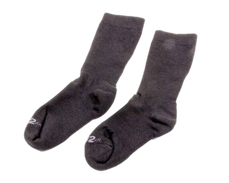 PXP Fire Resistant Racing Race Socks SFI 3.3 Auto Racing Fitted Black