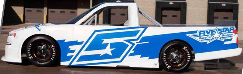 Five Star 2019 Short Track Truck Body Package - Complete