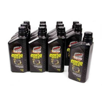 Champion (R) 20w-50 Synthetic Blend Racing Oil - 1 Qt  (Case
