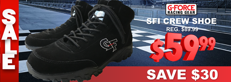 2019 G-Force SFI Crew Shoe