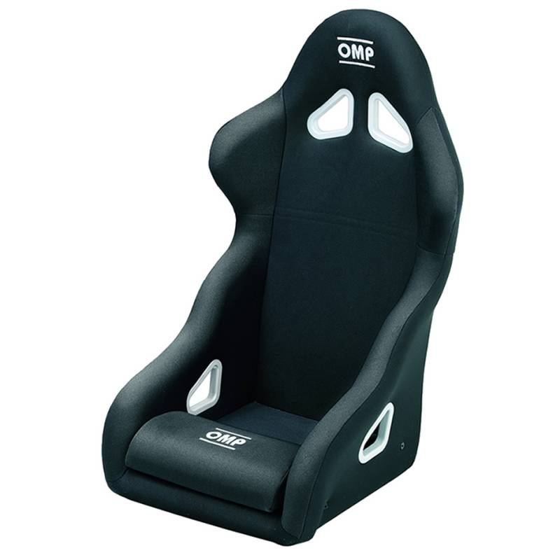 OMP HA//728E//N Rallye Racing Seat, Black