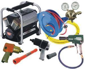 Tools & Pit Equipment - Air Tanks and Tanks