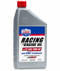 Lucas Racing Oil - Lucas Semi-Synthetic Racing Only Motor Oil