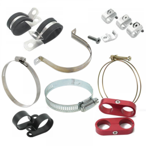 Fittings & Hoses - Hose Clamps, Brackets and Separators