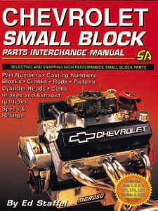 Engine Books - Chevrolet Engine Books
