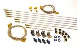 ALLSTAR PERFORMANCE 3//16 Brake Line 30in Steel ALL48054