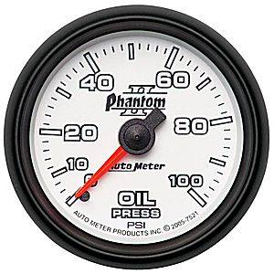 Gauges - Oil Pressure Gauges