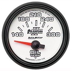 Gauges - Oil Temp Gauges