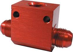 Oil Fittings & Adapters - In Line Oil Temperature Tees
