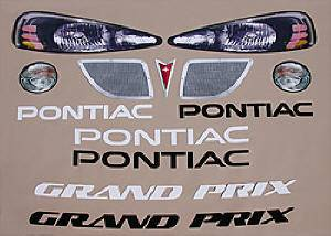 Decals, Graphics - Pontiac Grand Prix Decals