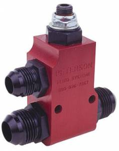 Oil Fittings & Adapters - Oil Pressure Relief Valves