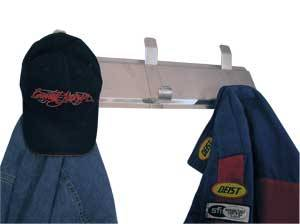 Trailer Storage Racks - Hat and Coat Rack