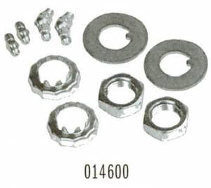 Front End Components - Thrust Bearings, Shims & Bushings