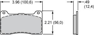 Brake Pad Sets - Circle Track - DynaPro Pads (7812)
