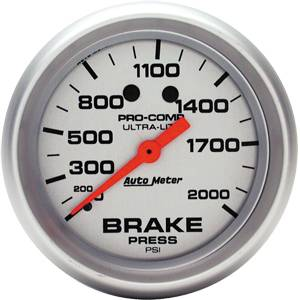 Analog Gauges - Brake Pressure Gauges