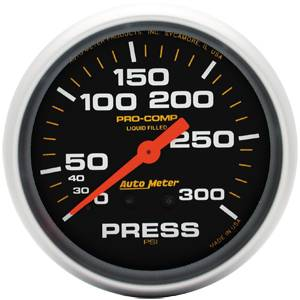 Analog Gauges - Pressure Gauges