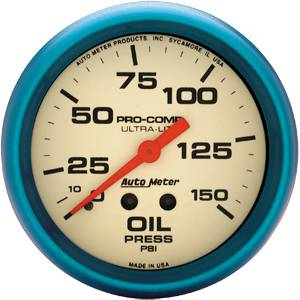 Gauges & Gauge Panels - Oil Pressure Gauge