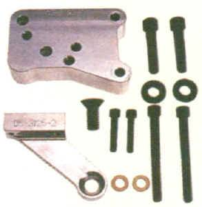 Dry Sump Parts & Accessories - Oil Pump Mounting Plates
