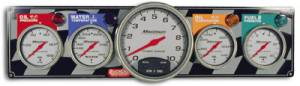 Dash Panels w/ Tachometer - 4 Gauge Dash Panels w/ Tach