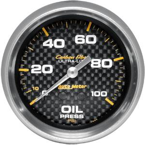 Oil Pressure Gauges - Mechanical Oil Pressure Gauges