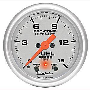 Fuel Pressure Gauges - Electric Fuel Pressure Gauges