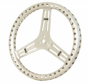 "Competition Steering Wheels - Aluminum Lightweight - 15"" Aluminum Lightweight Steering Wheels"