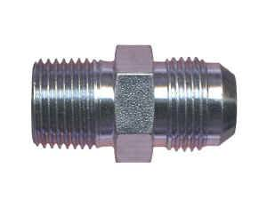 Male Pipe Thread to AN Male Adapters - Male Pipe Thread to Male AN - Steel