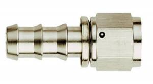 Aeroquip Socketless Nickel Plated Hose Ends - Aeroquip Straight Socketless Nickel Plated Hose Ends