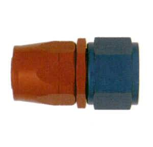 XRP Non-Swivel Hose End Straight Fitting PN# 100006-6AN Anodized Aluminum
