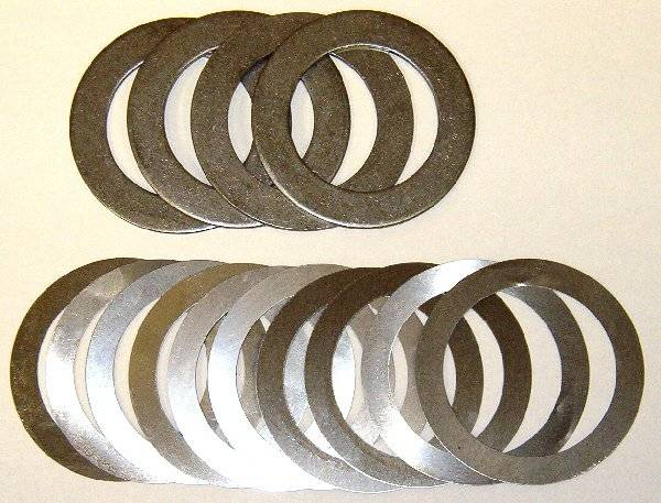 """Solid Pinion Spacer Kit with Shims 7.5/"""" GM"""