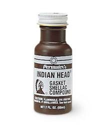 Permatex(R) Indian Head(R) Gasket Shellac Compound - 2 oz ...