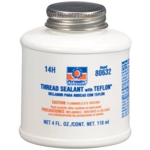 Permatex thread sealant w teflon oz can