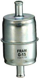 fram standard fuel filter - steel housing w/ 3/8