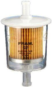 clear inline fuel filter fram fram filters g2 : fram standard fuel filter - 5/16
