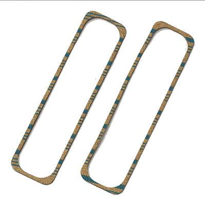 "Fel Pro Valve Cover Gasket Set 1630; Cork Rubber w// Steel Core .313/"" for BBC"