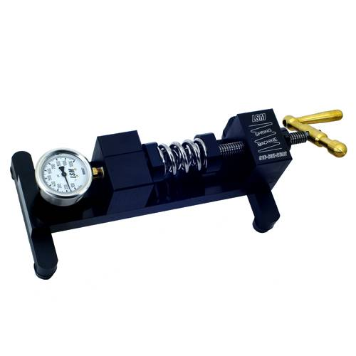 """LSM Racing Products """"Spring Machine"""" Bench Top Valve"""