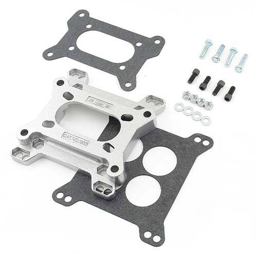 Mr. Gasket Aluminum Carburetor Adapter - Converts Holley 2 ...