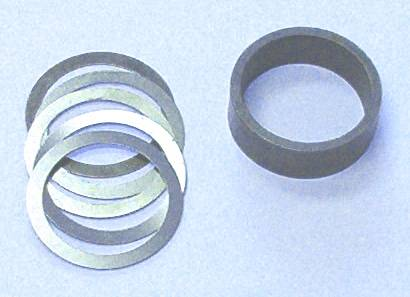 Ratech Solid Pinion Spacer and Shim Pack - GM 10 Bolt 7.5 ...