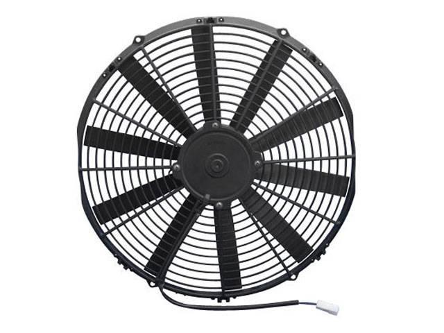 16 Blade Fan : Spal quot straight blade low profile fan v puller