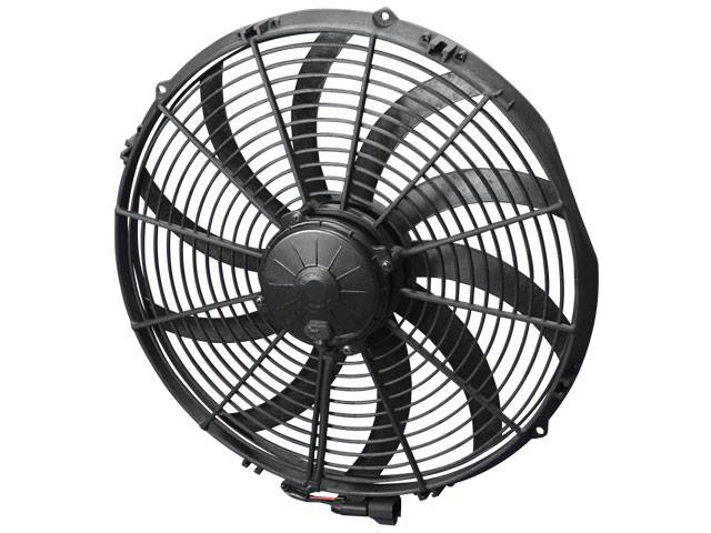 16 Blade Fan : Spal quot curved blade extreme performance fan v puller